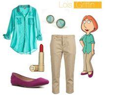 Lois Griffin - Family guy fancy dress costume