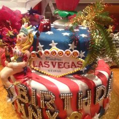 USA birthday cake!