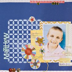 Matthew: Using SC Yearbook Line by maggie holmes at Studio Calico