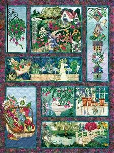 500pc In Full Bloom quilt jigsaw puzzle | 52111 | Cobble Hill Puzzle Company