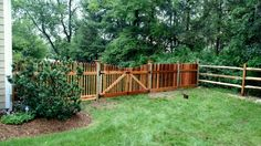 Custom picket with gate!