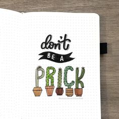 don't be a prick page by @amandarachdoodles on Instagram