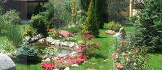 Imagini pentru gradini cu flori House, Houses, Home, Homes