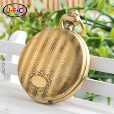 Delicate patterns retro copper male ladies mechanical watch stripe elliptical palace style authentic wood Lines T031