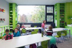 Classroom, Primary school Livingston, Prague