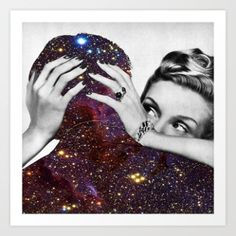 Art Print featuring Dependable Relationship by Eugenia Loli