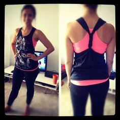 DIY Tank...yep, for zumba class!
