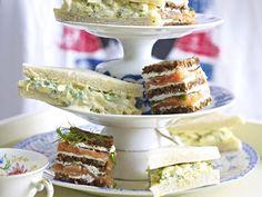 Teatime - süße & herzhafte Snacks zur Teestunde - zweierlei-sandwiches  Rezept