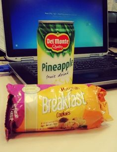 Munchies and refreshment juice at office