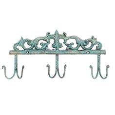 ⚜️ Add charm to your home with MyGift Vintage Style Rustic Turquoise Metal 6 Hook Coat Rack/Wall-Mounted Entryway Storage Hooks from Storage Hooks, Entryway Storage, Baroque Fashion, Vintage Fashion, Vintage Style, Antique Coat Rack, Mint Decor, Bag Rack, Bathroom Towel Decor