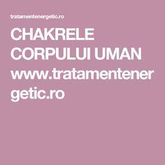 CHAKRELE CORPULUI UMAN www.tratamentenergetic.ro