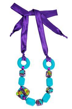 CNB turquesa pop necklace