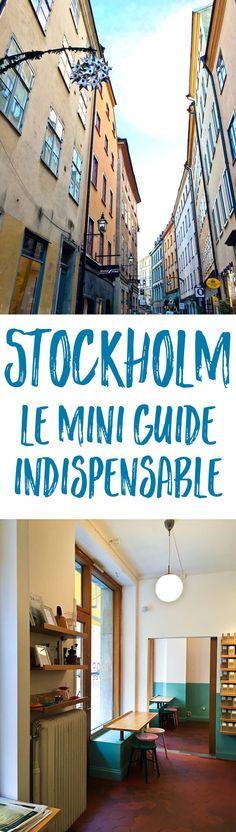 Dans ce mini-guide de Stockholm, mes meilleures adresses de restaurants, boutiques, boulangeries, cafés, et musées, avec des idées de souvenirs à rapporter !