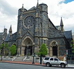 St Patrick's Cathedral, Penn Qaurter, NW, Washington, DC. One of the oldest in DC.