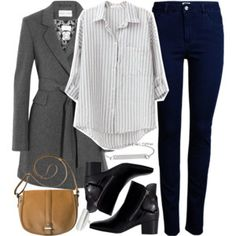 Allison Inspired Outfit with High Waisted Jeans
