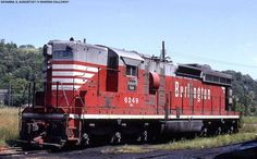 https://flic.kr/p/f8R28q | CB&Q #6249 (EMD SD9) is at Savanna, IL in August…
