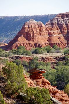 Palo Duro Canyon State Park, TX. Palo Duro is the second-largest canyon in the United States and is located just south of Amarillo, Texas.