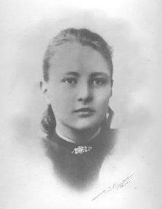 My paternal grandmother, Berghild Rolfsen, - a strong and strict woman, but for me a source of inspiration.