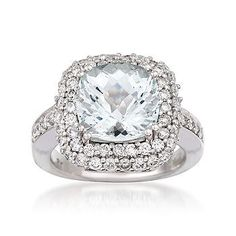 yes please- aquamarine and diamonds...LOVE!