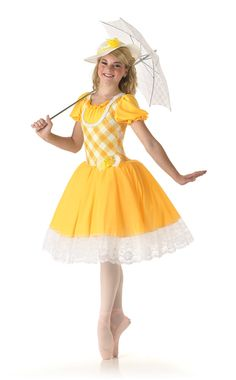 Yellow Rose of Texas Halloween Dance Costume