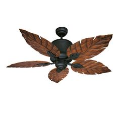 Savoy House Portico Indoor/Outdoor Ceiling Fan in Horseshoe Black.