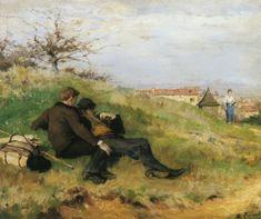 Ανάπαυση ζωγράφων (1880)