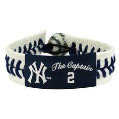New York Yankees The Captain Genuine Baseball Bracelet - Derek Jeter