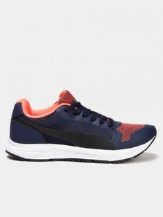 9fdc2b87b792 Puma Men Navy Peacoat-fluo Running Shoes from Abof for Rs. 3799 on Hoppingo