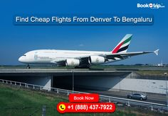 Save up to $150 #discount on #flightbooking. #BookOtrip offers #CheapFlightsFromDenvertoBengaluru. Visit BookOtrip #travelagency for more details. #airtravel #usa