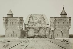 Spoorbrug Nijmegen, 08-05-1879