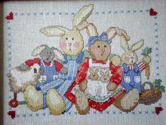 ...  family  bunnies ...