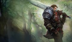 legend of legend personajes garen - Buscar con Google