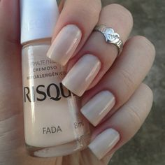 Risqué Fada Dont like the shape of her nails but the polish is nice! Fall Pedicure, Manicure And Pedicure, Pretty Nail Colors, Pretty Nails, Luxury Nails, Elegant Nails, Nude Nails, Nail Polish Colors, Simple Nails