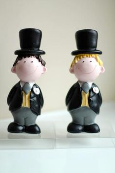 Cute Wedding Cake Topper for Grooms
