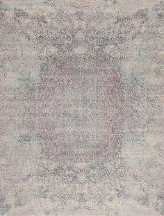 Pinnacle Wool & Silk - EVEREST - Samad Rugs- Handmade Carpets