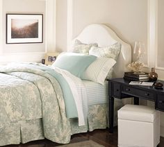 Matine Toile Quilt & Sham | Pottery Barn