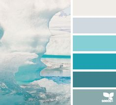 iced tones Color Palette by Design Seeds Scheme Color, Colour Pallete, Colour Schemes, Color Patterns, Color Combos, Color Palettes, Room Colors, House Colors, Paint Colors