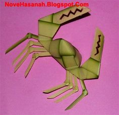 Nove Hasanah: Cara Membuat Kepiting dari Daun Kelapa (Janur)