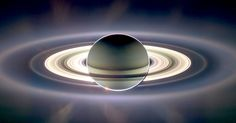 �Cassini� Space Probe Sends Back Stunning Images Of Saturn via LittleThings.com