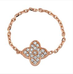 Full Chain Clover Ring by Amorium :)  Shop www.amorium.com !