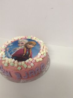 Frozen foto taart