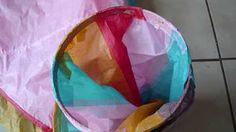 Cómo hacer un globo aerostático - DIY Hot Air Balloon - YouTube