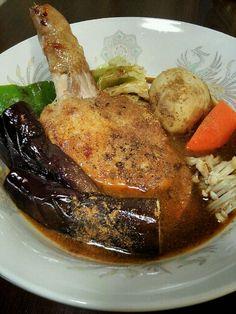 ♪ベル食品 大泉洋プロデュース 『本日のスープカレーのスープ』使用 - 9件のもぐもぐ - チキン スープカレー by wanpara