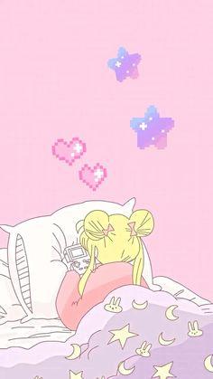 Whats Wallpaper, Anime Wallpaper Live, Galaxy Wallpaper, Sailor Moon Aesthetic, Aesthetic Anime, Cute Cartoon Wallpapers, Animes Wallpapers, Iphone Wallpaper Kawaii, Sailor Moon Wallpaper