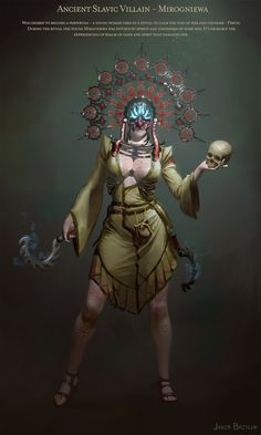 ArtStation - Jakub Bazyluk's submission on Ancient Civilizations: Lost & Found - Character Design