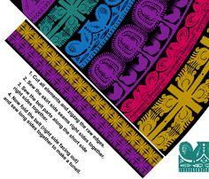 Simple Folk Skirt - S size (for fabrics 54'' width and more) fabric by ravynka on Spoonflower - custom fabric