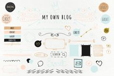 Light Blog Kit by Webvilla on Creative Market