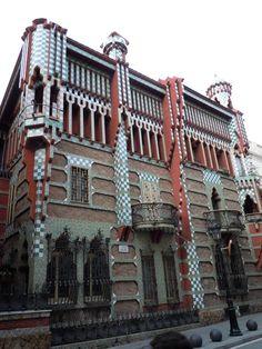 Casa Vicens 1/カサ・ビセンス 1 @Barcelona