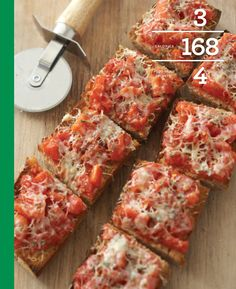 Crunchy Tomato Bread - PER SERVING: 168 calories 3 g fat (1 g sat / 1.3 g mono / 0 g poly) 4 mg cholesterol 394 mg sodium  28 g carbohydrate 4 g fiber 8 g protein
