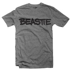 Beastie T-Shirt (Adult) by Hatch For Kids For all the little beasties, making all their beastie noise. For all the beastie babies, beastie girls, and beastie boys. (Because everybody's a little beasti